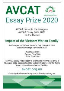 AVCAT Essay Prize 2020